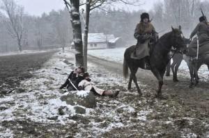 Zdjęcie ilustracyjne (rekonstrukcja bitwy powstania styczniowego)