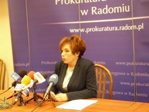 Prokurator Małgorzata Chrabąszcz