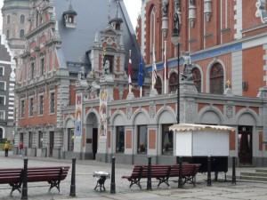 Siedziba prezydenta Łotwy w Rydze