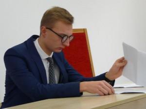 Mateusz Wojcieszak walczy w sądzie o przejrzystość
