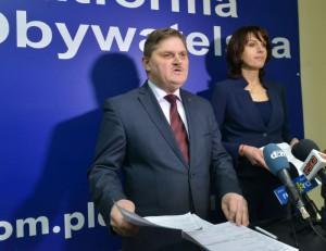 Leszek Ruszczyk i Anna Białkowska