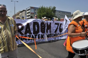 W ubiegłym roku KOD zorganizował w Radomiu marsz wolności