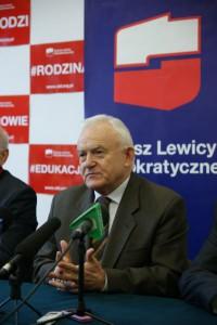 Leszek Miller podczas spotkania w Radomiu w 2014 roku (fot. SLD)