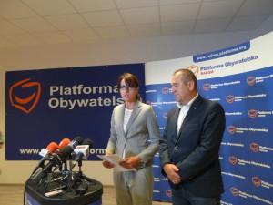 Posłanka Białkowska i radny Wędzonka zgadzają się z oceną Jacka Sasina