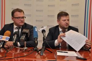 DSC_0517  Prezydent Witkowski i wiceprezydent Jerzy Zawodnik