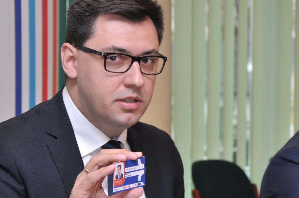 Wiceprezydent Fysztak zacheca do korzystania z Radomskiej Karty Miejskiej