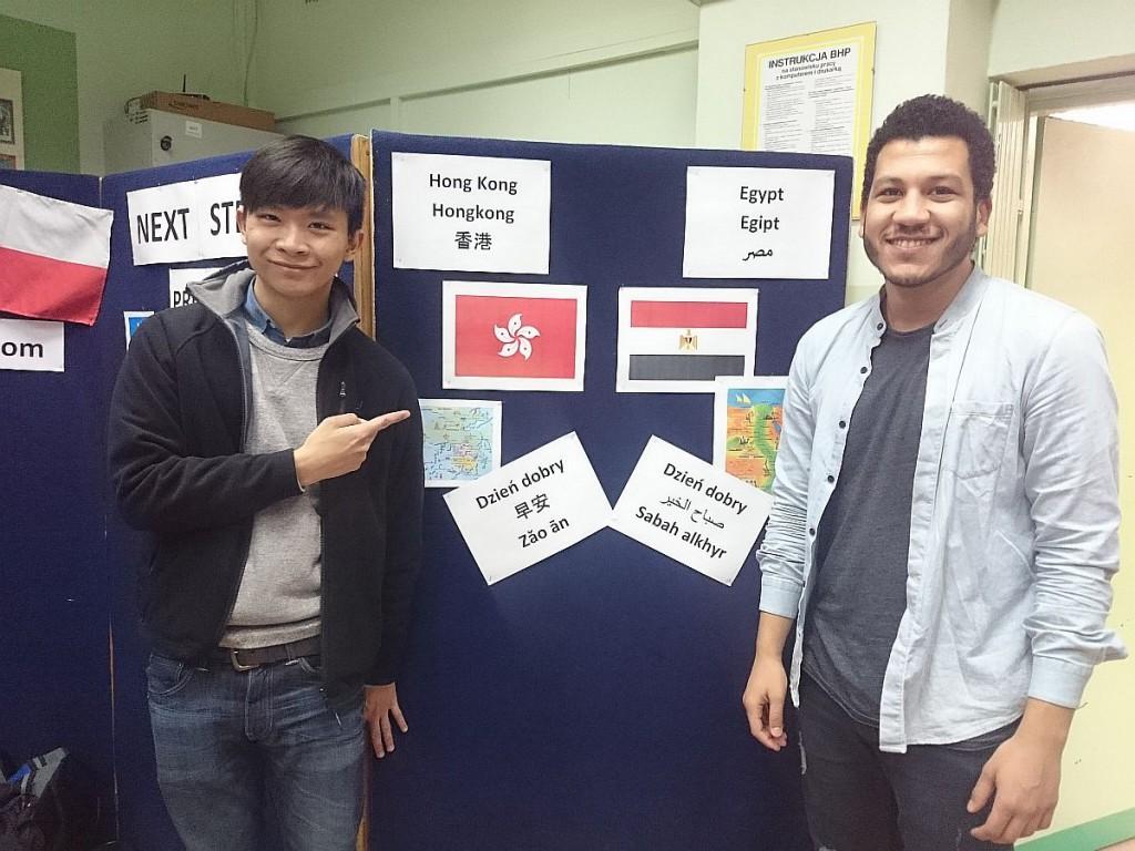 Cudzoziemscy studenci są gośćmi IX LO