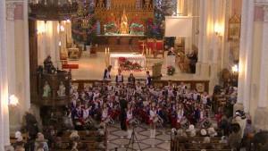 Orkiestra koncertowała w katedrze w ubiegłym roku (fot Grandioso)