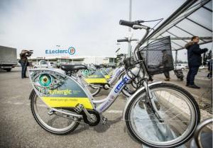 Leclerc sfinansował m.in. budowę stacji rowerów miejskich