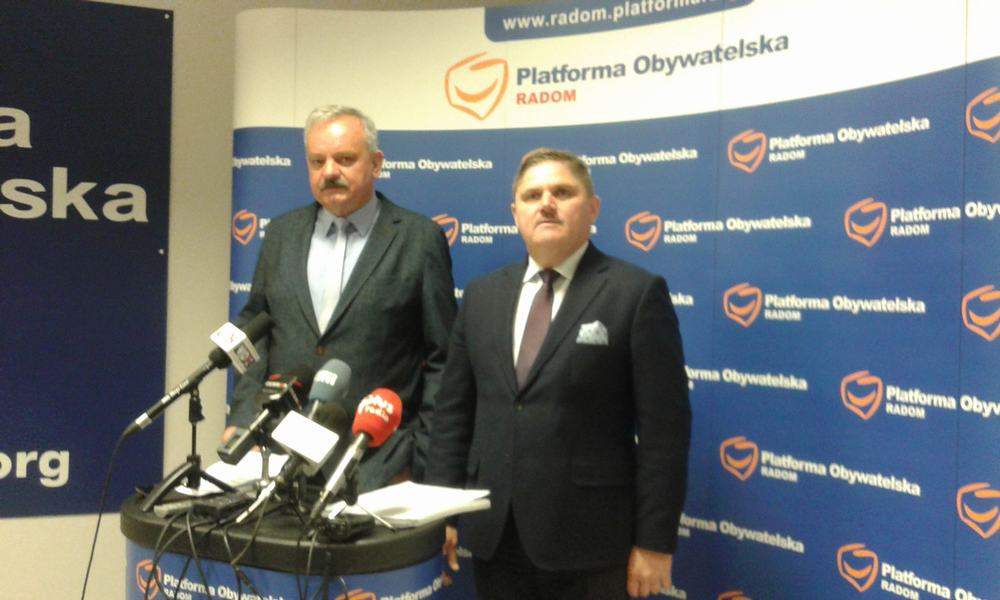 Andrzej Łuczycki (z lewej) i Leszek Ruszczyk