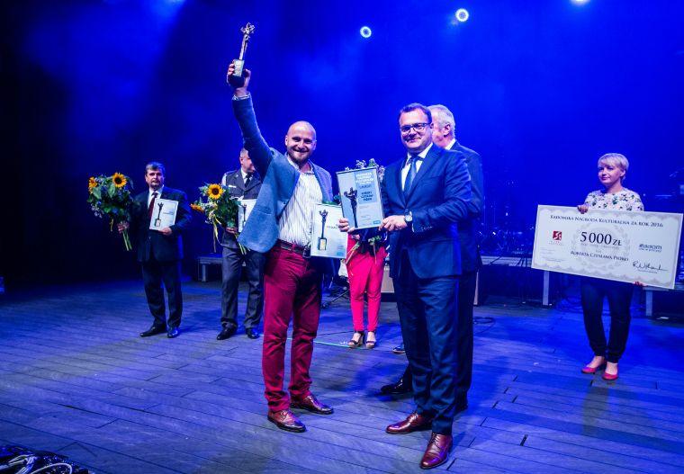 Laureat nagrody za 2016 rok Czesław Pióro