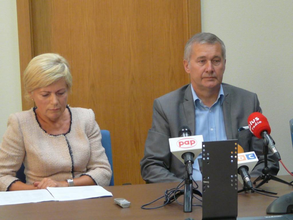 Odwołani już ze swoich funkcji prezesi: Anna Szymczak i Stanisław Jaźwiński