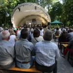 Imprezy odbędą się w muszli w parku (fot. Łaźnia)
