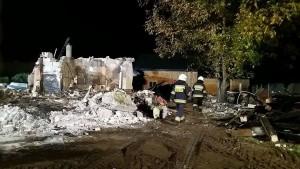 Tyle zostało z budynku po wybuchu