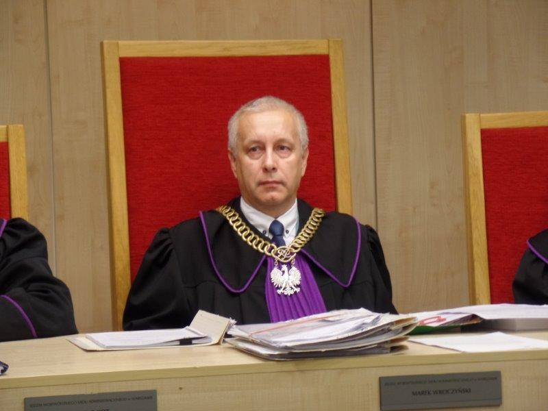 Prof. Królikowski wnioskował o wyłączenie sędziego Marka Wroczyńskiego (na zdjęciu