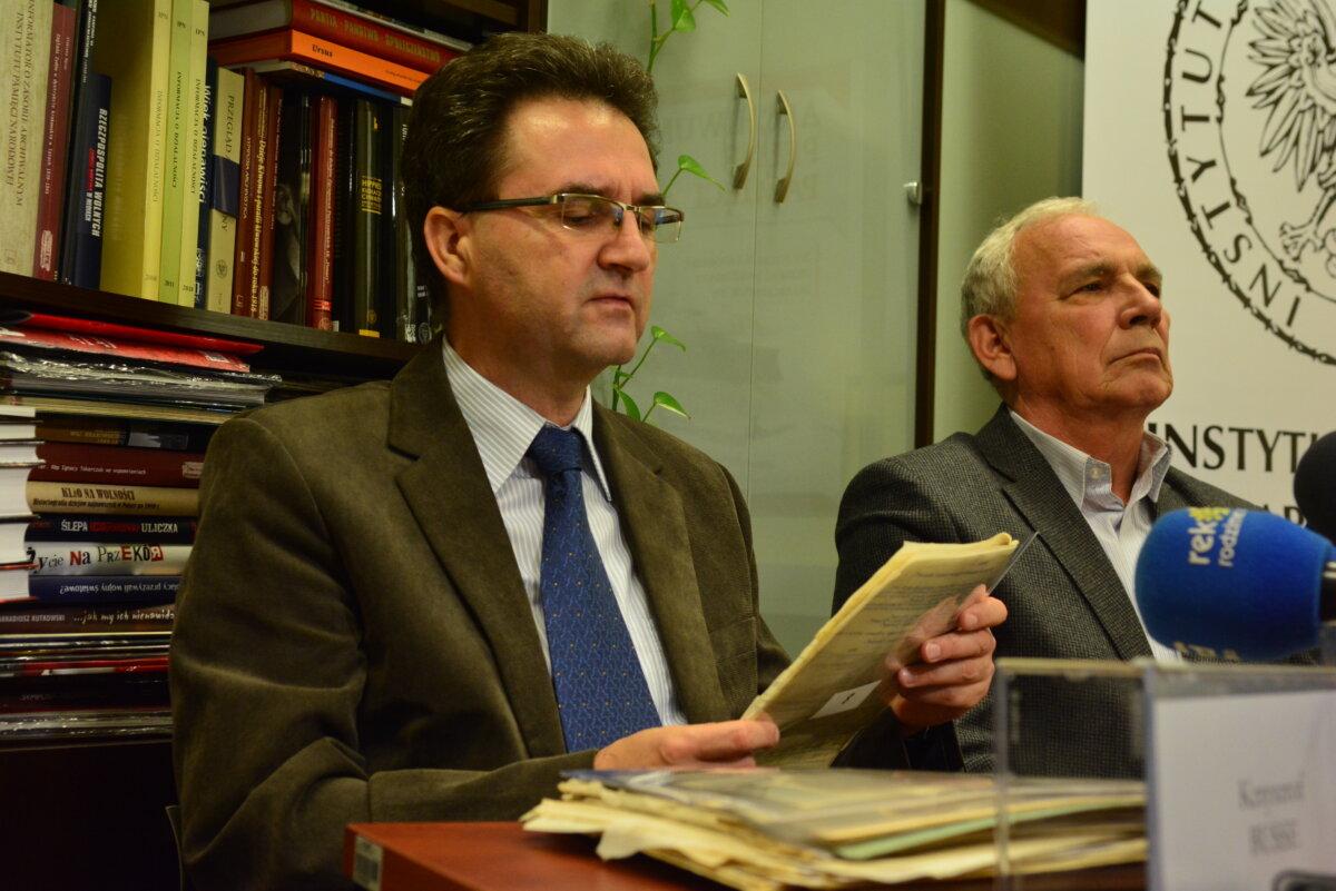 Z dokumentami zapoznał się historyk Krzysztof Busse