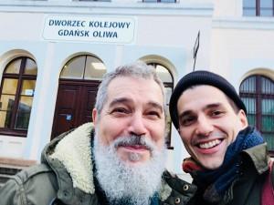 Jorgos i Antonios Skolias (Fot. Jorgos Scolias/facebook)