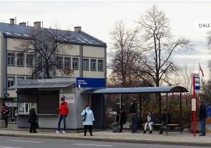 Jedna z pierwszych wymienionych wiat stanęła przy ul. Malczewskiego