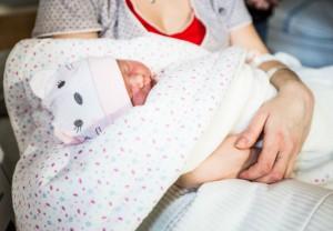 Pierwsza radomianka urodzona w tym roku to Zuzia Zakrzewska
