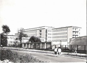 Szpital, lata 70.