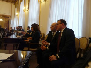 Prezydent Witkowski podkreśla, że pieniadze na Wojska Polskiego to sukces Adama Bielana (tu razem na jednej z sesji rady miejskiej)