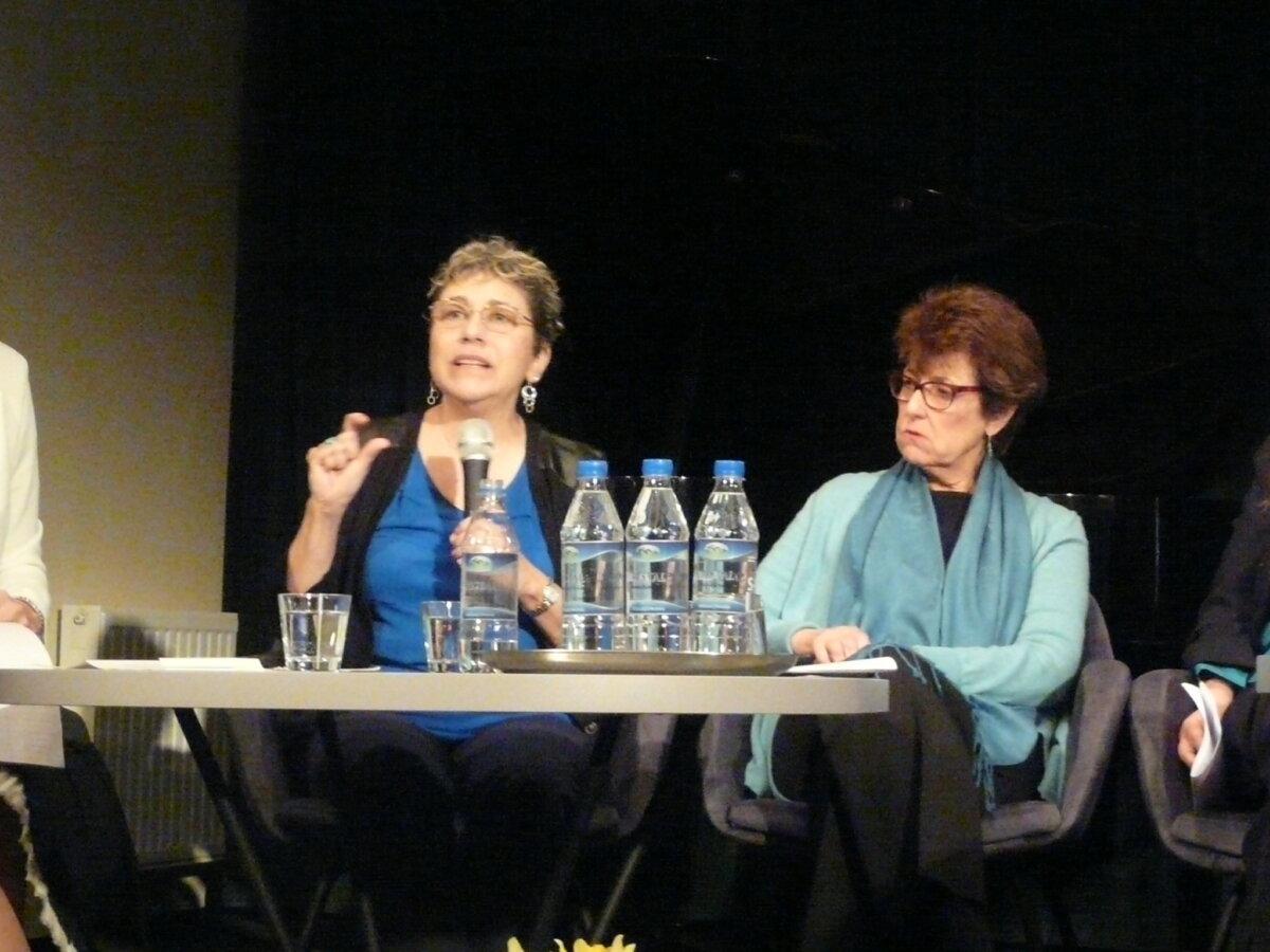 Sharon Chazanowitz (z lewej) i Hilda Grossfeld