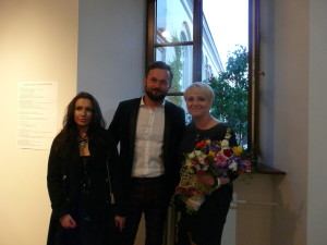 """W tym roku Małgorzata Ziewiecka (z prawej) była kuratorem wystawy """"W poszukiwaniu piękna"""""""