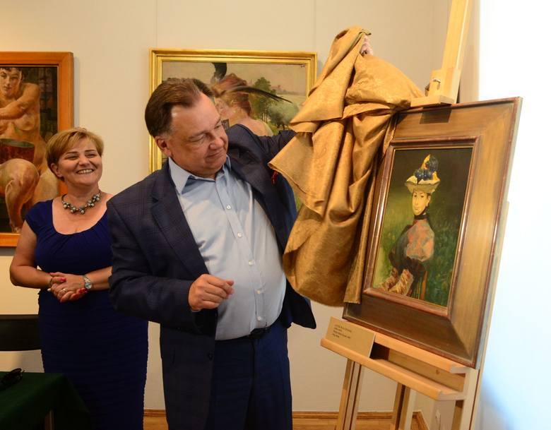 Obraz prezentuje marszałek Struzik