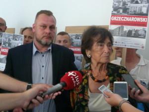 Halina Szpilman i Marcin Dąbrowski