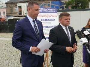 Wicewojewoda Standowicz i poseł Skurkiewicz