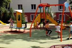 Plac zabaw przy Ogródku Jordanowskim także powstał w ramach BO