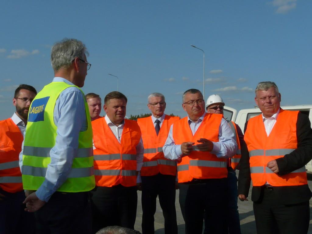 Minister Adamczyk przyjechał z gospodarska wizytą