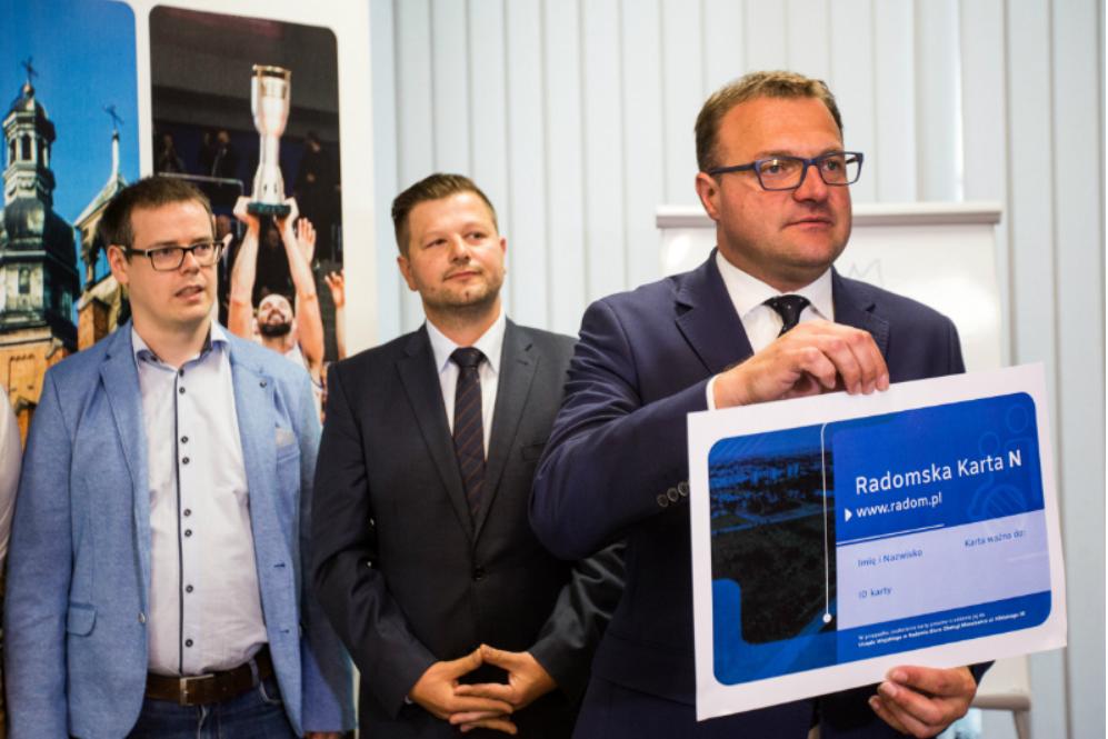 Prezydent Witkowski: Jesteśmy pierwszym miastem w Polsce, które wprowadza takie rozwiązania