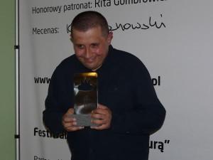 Marcin Wicha, ubiegłoroczny laureat nagrody