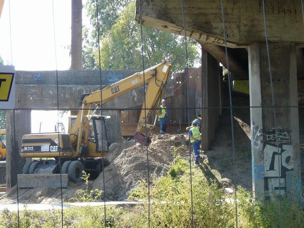 Zdaniem wicewojewody postęp pracy przy budowie jest za mały