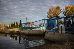Trwa spuszczanie wody z zalewu