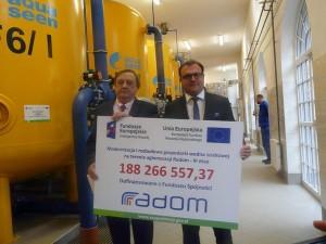 Taką kwotę spółka dostanie z UE