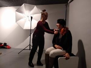 """Artystka zorganizowała też sesję zdjęciową z udziałem kobiet (Fot. MCSW """"Elerktrownia"""")"""