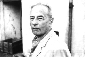 Witold Gombrowicz w Buenos Aires, około 1963 r. (Fot. Miguel Grinberg/ ML)