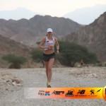 Karolina Wiśniewska na trasie pustynnego maratonu
