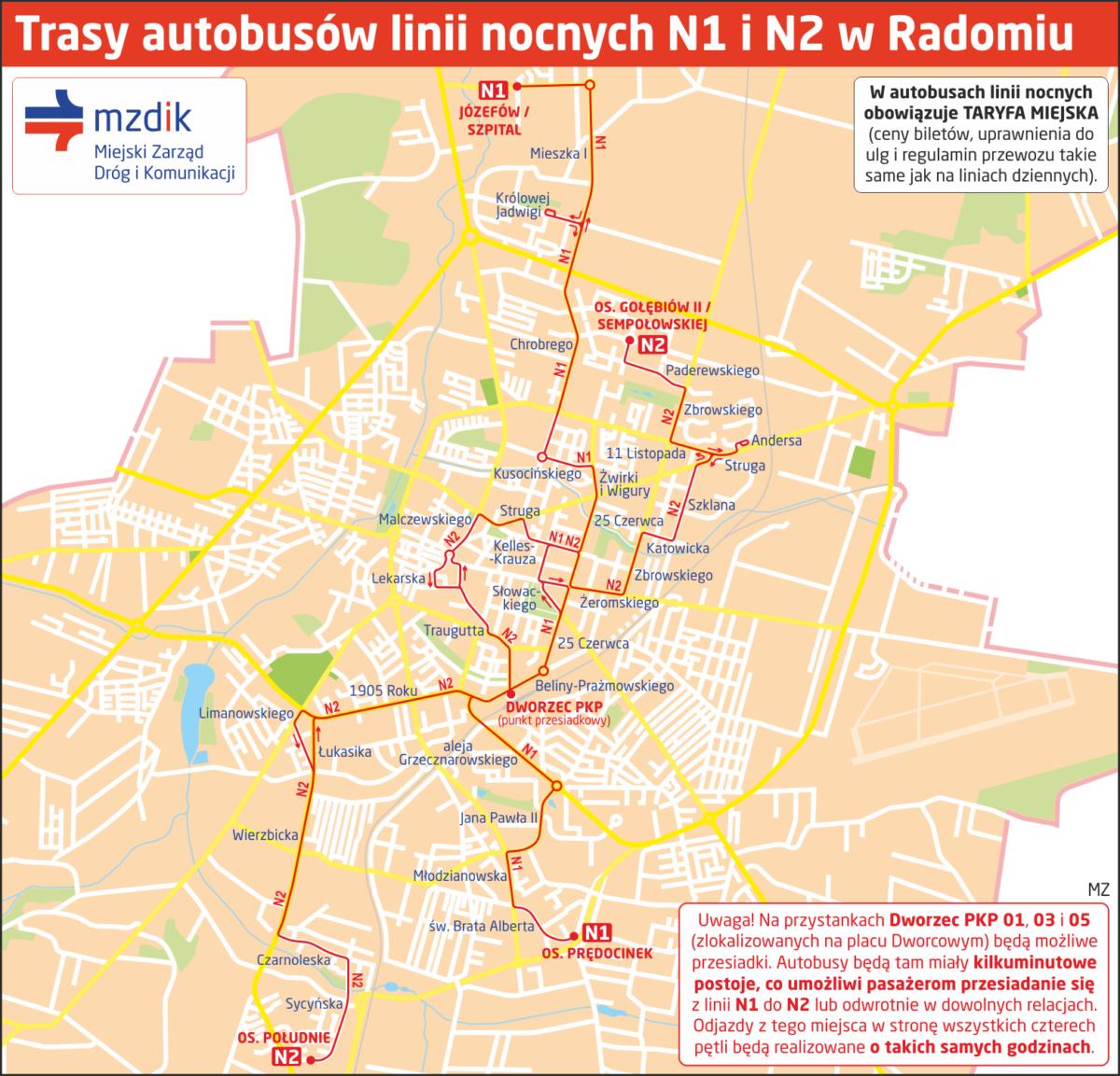 Trasy-linie-N1-N2