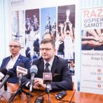 Zbigniew Ciesielski i wiceprezydent Jerzy Zwodnik