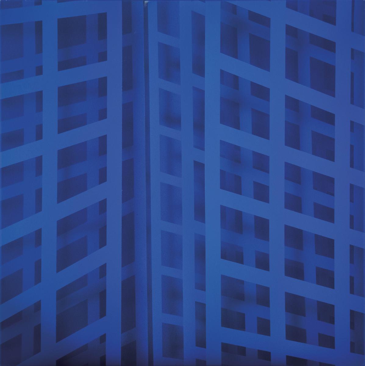 Gerhard Birkhofer, Shadow 4, 2018, akryl, płótno, 60 x 60 cm