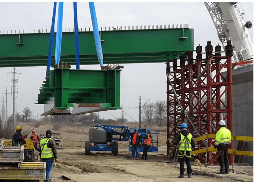 Budowa wiaduktu trwa (fot. MZDiK)