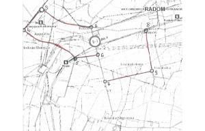 schemat objazdu drogi powiatowej 3564W(1)