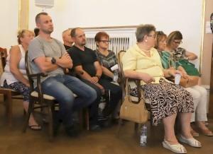 Mieszkańcy przyszli na sesję