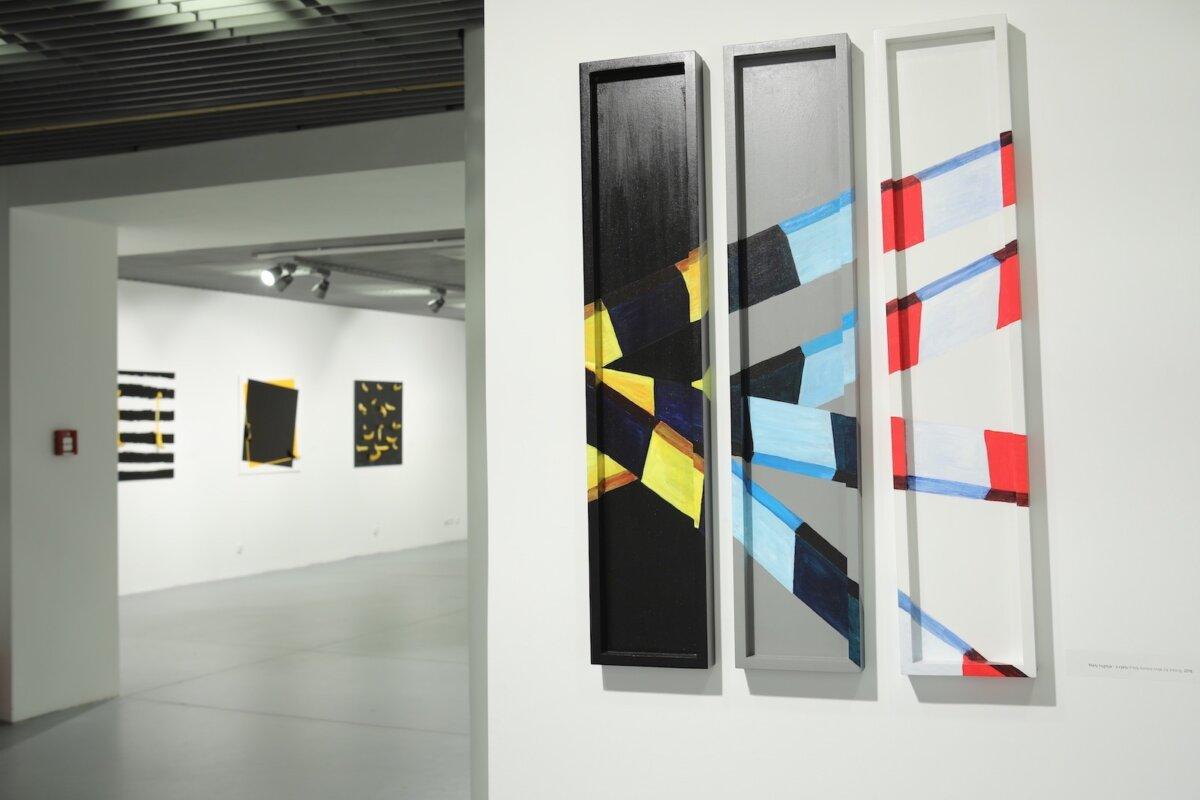 Marcin Berdyszak, widok z wystawy (2)