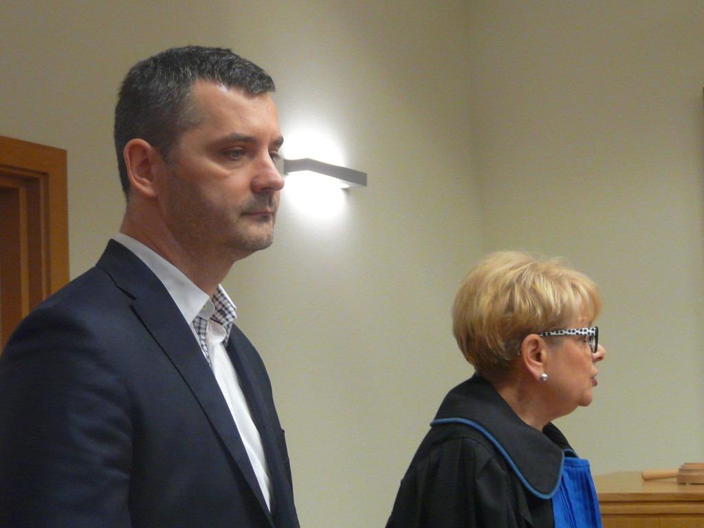 Rafał Czajkowski w sądzie