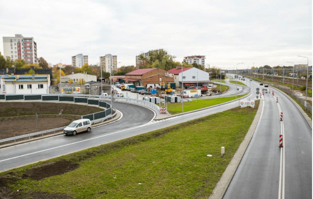 Screenshot_2019-10-10 Węzeł na śródmiejskim odcinku trasy N-S oddany do użytku
