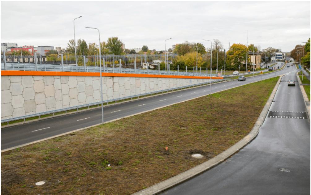 Screenshot_2019-10-10 Węzeł na śródmiejskim odcinku trasy N-S oddany do użytku(4)